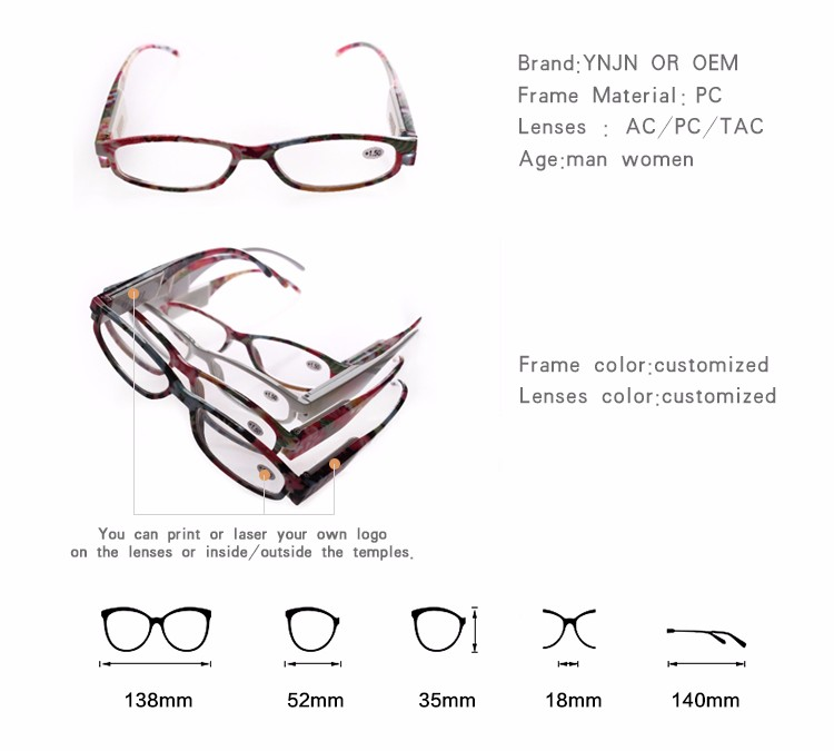 2019 new products china wholesale colorful beautiful custom your brand led glasses