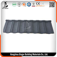 0.4mm/0.45mm/0.5mm Steel stone coated steel Corrugated Metal Roof Tile