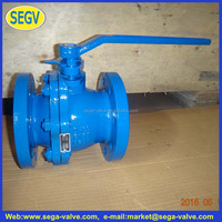 Cast Iron 3pc Flange Ball Valve