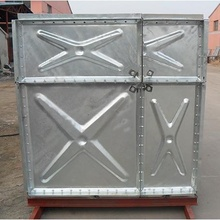 factory price hot dipped galvanized steel pressure storage water tank