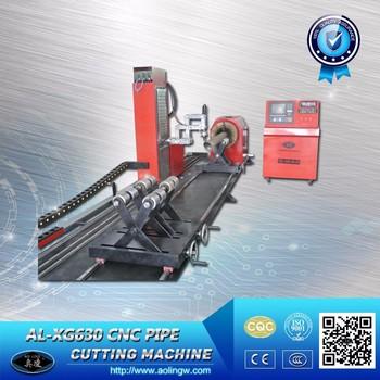 plasma pipe beveling machine