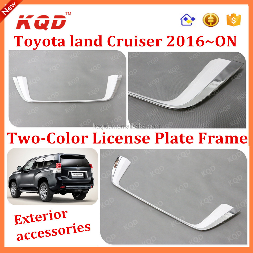 License Plate Frame Accessories For Land Cruiser 200 Toyota