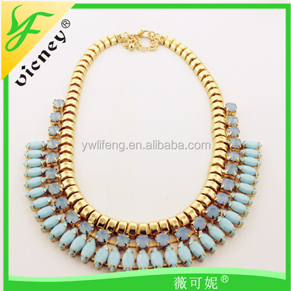 New Product Wedding Favor Metal Choker Necklace