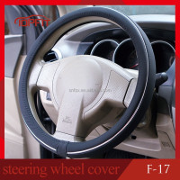 Classical Black Super Fibre Car Steering Wheel Cover