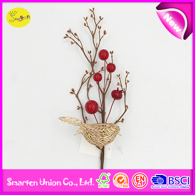 christmas decorative artificial berry, beautiful wholesale christmas tree decor