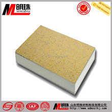 The new decorative Materials named natural stone coating aluminum composite panel for the building curtain wall