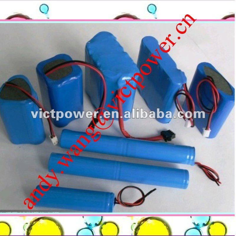 12.6V 4400mah Toy car battery li-ion battery packs