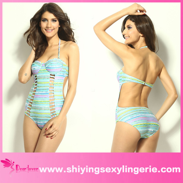 cut out teddy women hot <strong>sexi</strong> one piece swimsuit