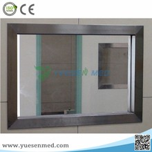 hospital radiation room protection x-ray shielding lead glass