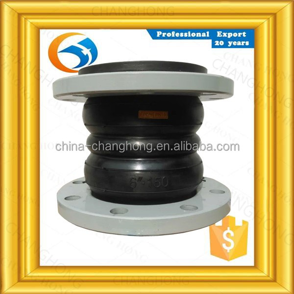 reseller discount inner nonseal. hypalon rubber double sphere rubber expansion joint for piping