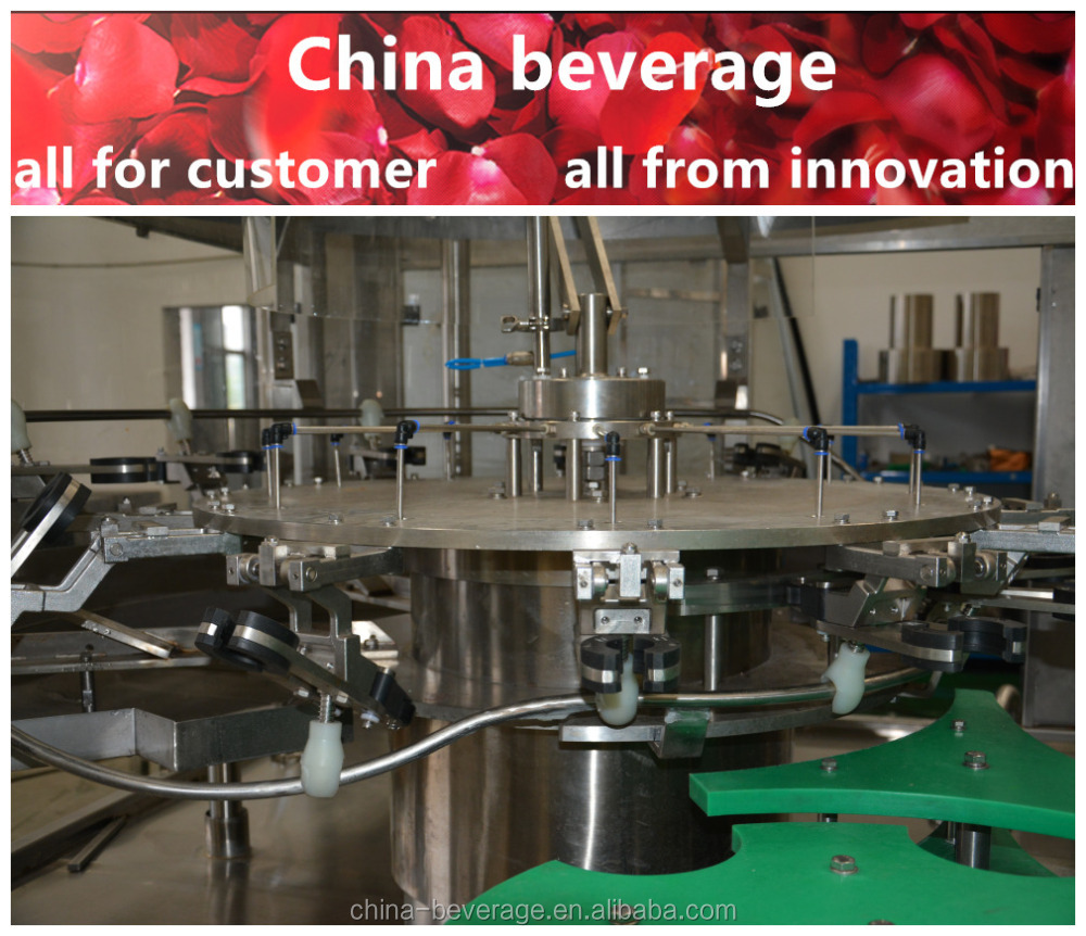 Factory direct price complete automation aerated drink filling machine manufacturer