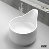 freestanding acylic solid surface dog bathtubs