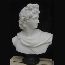 Popular Design apollo bust statue for home decoration