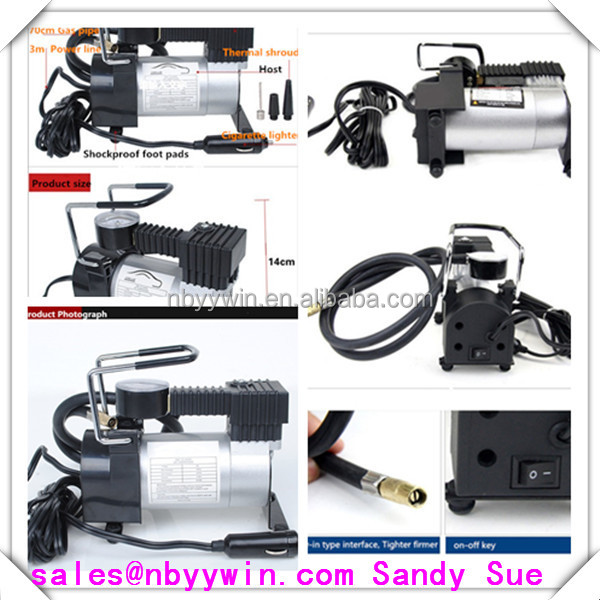 12V 4x4 4wd 30L/MIN PORTABLE EXTRA HEAVY DUTY portable truck tire inflator pump