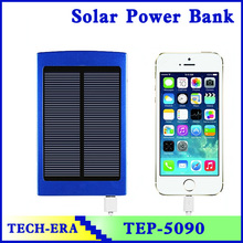 Universal portable solar power pack. power charger 20000mah fast charging with LED light for iphone charging