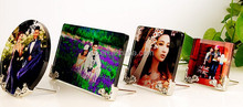 sublimation glass table top Photo frame