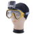 Factory price mutli-function gopros diving mask ventilate mask with locking mount, gopros camera accessories