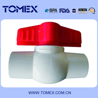 China supplier widely used water system 25mm compact ball valve