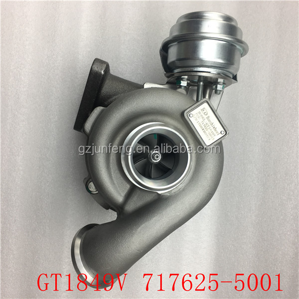 GT1849V 717625-5001 860050 R1630007 turbo for Opel Astra G 2.2 DTI 125 KM