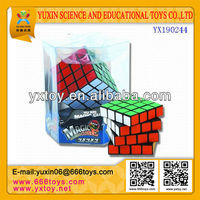 EDUCATIONAL AND PROMOTION PLASTIC TOYS MAGIC CUBE ( MAGIC SQUARE )