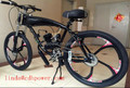 GT-2B motorized bicycle with 80cc engine kits built in
