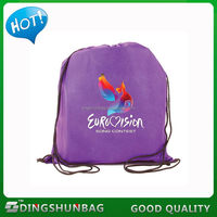 Excellent quality classical football sport waterproof drawstring bag