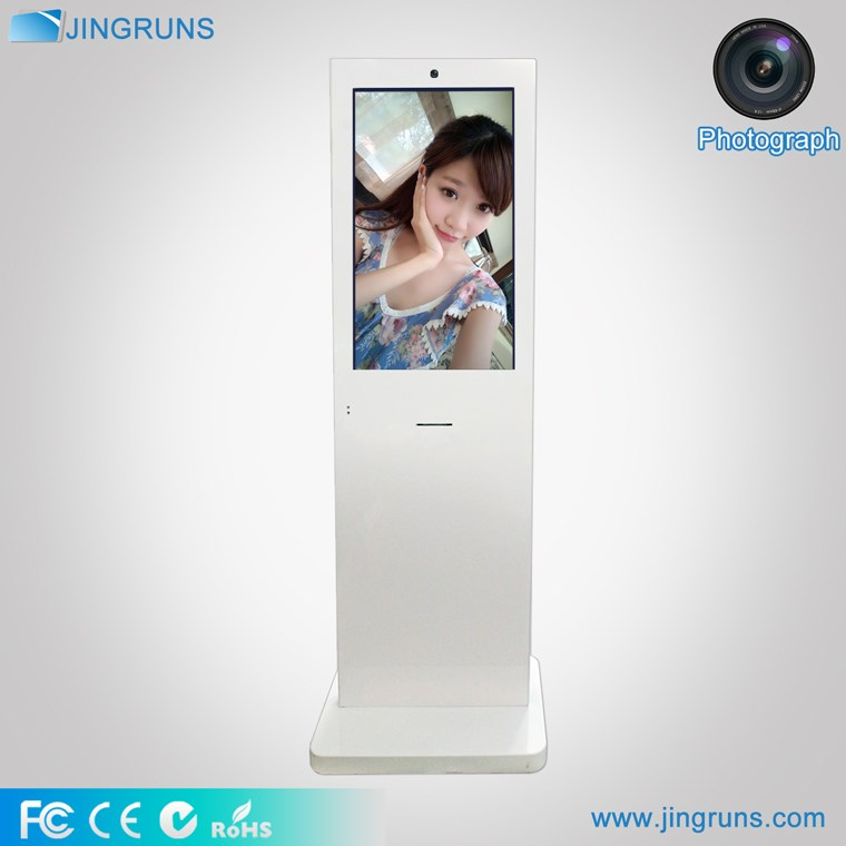 "Promotional 32"" touch screen kiosk photo booth machines/photo kiosk/photo booth kiosk"