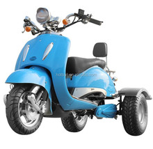 2017 new fashion adult 1000w vespa electric trike motorcycle