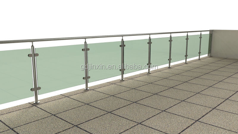 Stainless steel terrace railing designs balcony railing for Terrace railing design