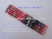 HB fancy pencil without eraser