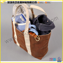 Waxed Wholesale Canvas Bag For Everyday Uses