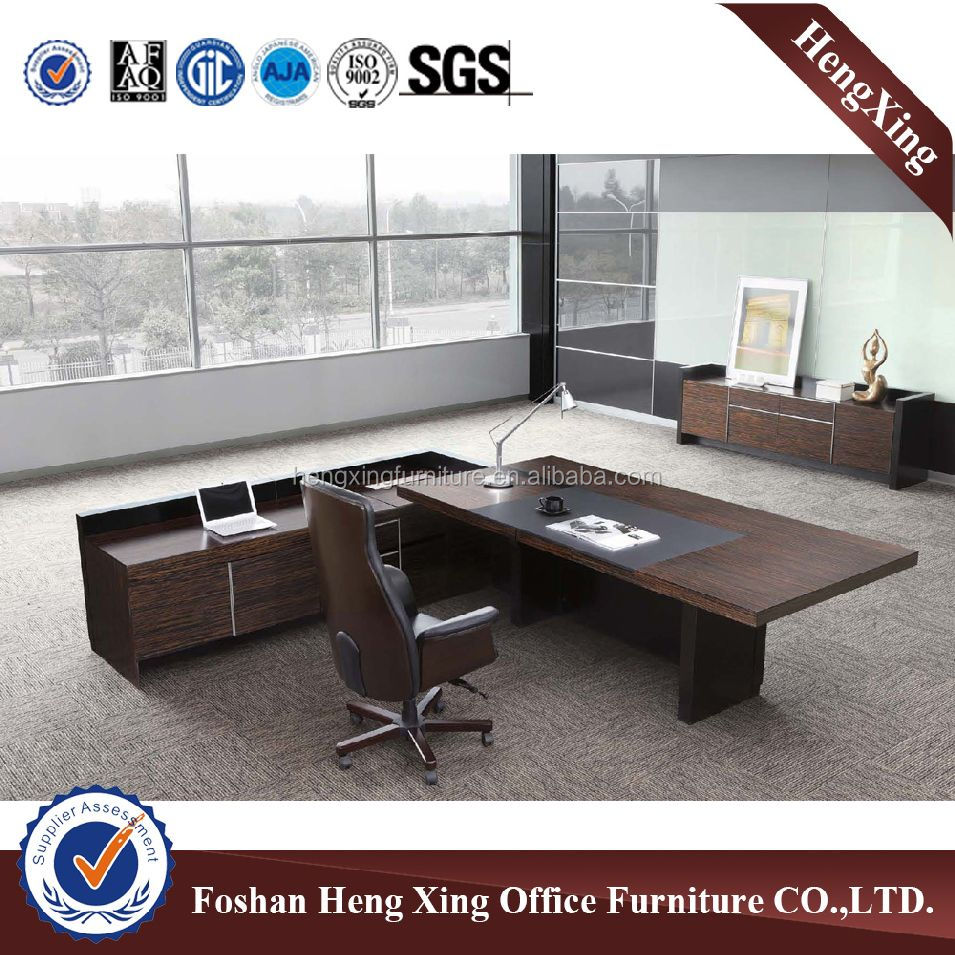 Boss Office With side Office desk Executive Office table (HX-NT3235)