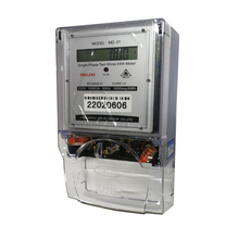 Xizi MD-01Single Phase LCD Digital Power Consumption Prepaid Prepayment Single Phase Two Wire Electric Energy KWh <strong>Meter</strong> Price