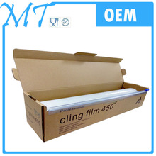 high quality Anti-fog PE cling film for food packaging