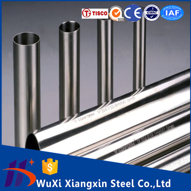 Decorative wall covering 2507 2205 304l 304 316 316l 201 321 430 904l stainless steel pipe price per meter