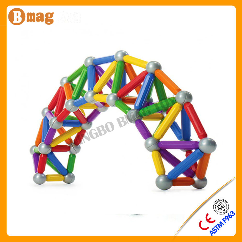 Over 10 years manufacturer experience new arrival magnetic ball stick toy