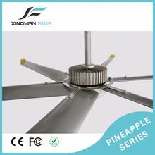 4.8m Air cooling large wind high quality dc indoor or outdoor ceiling fan with efficient manufacturer
