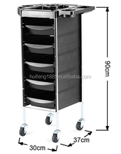 2017 NEW Coloring Hair Salon Trolley 6 Tier Storage Rolling Cart