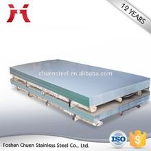 sheet grade 201 aisi finish 304 2B BA stainless steel sheets price per ton in guangdong