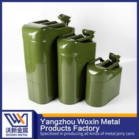 Top quality metal motorcycle gasoline fuel cans