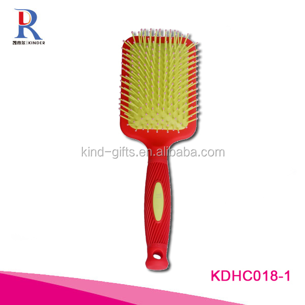 Professional quality crystal hair brushes bling paddle brushes