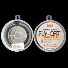 4 strands 55LB UHMWPE braid fishing line FLY CAT material from japan
