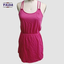 Ladies vest tops camisole dirndl dresses women korean fashion summer long ladies sexy dress for sale