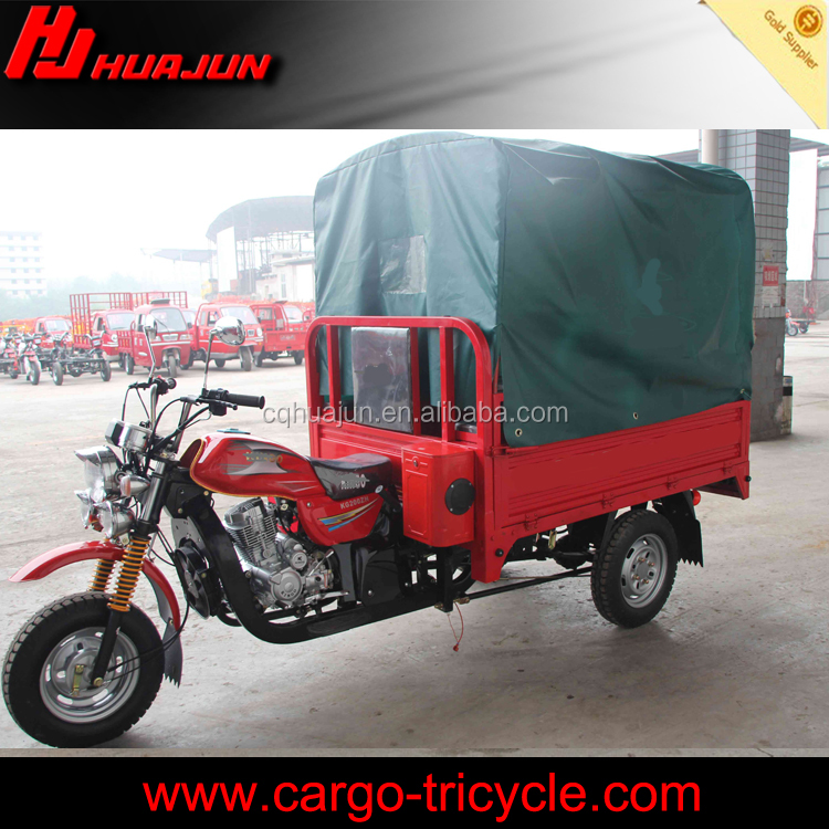 Cheaper 150cc Chinese tricycle with tent/Cargo factory tricycle for sale