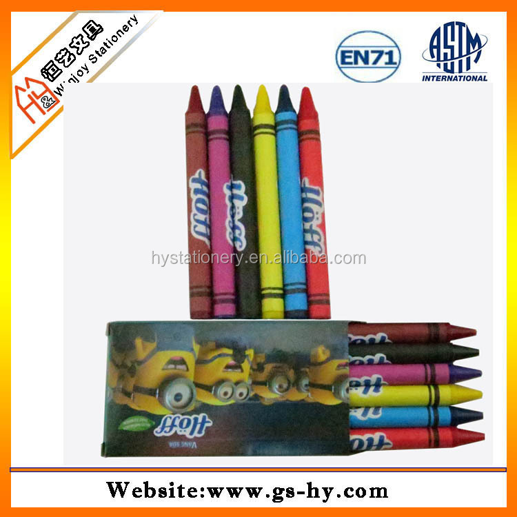 Customize promotional gift crayons and pencil sets drawing crayon pens