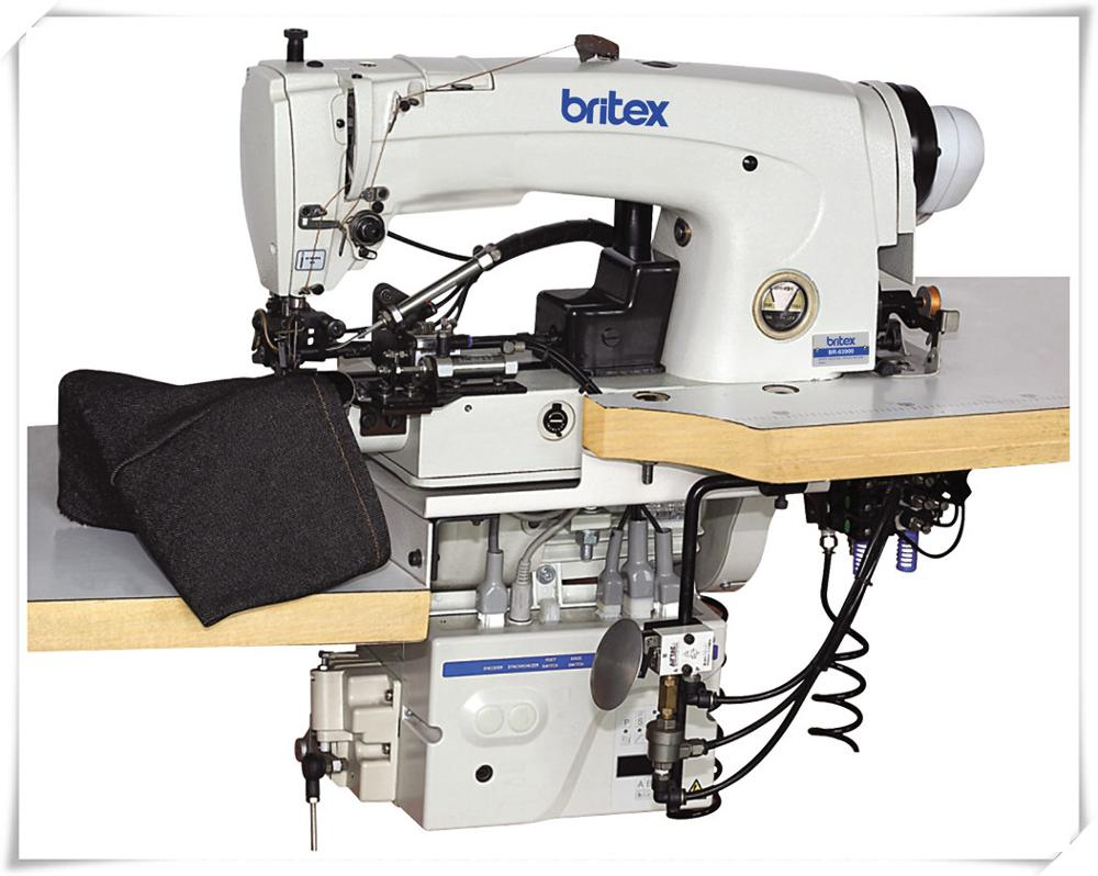 BR-63900 CTR Trouser bottoms & sleeves lockstitch hemming machine High Quality industrial hemming machine