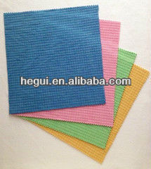HG Microfiber cleaning cloth super soft Small lattice