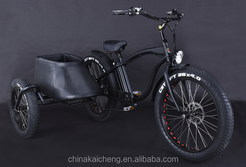 three wheels electric bike/electric tricycle/tricycle for cargo from LOHAS KCET001