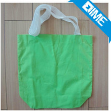 Wholesales Cheap Recycled Custom Standard Size Black 100% Canvas Tote Bag Cotton Bag