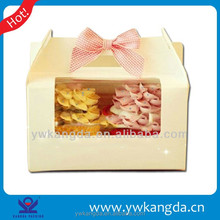 2015 PVC Window Paper Decorative Cake Box wholesale